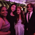 Prince Jackson and his girlfriend at the wedding of Taj Jackson