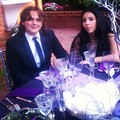 Prince and his girlfriend at the wedding of Taj Jackson - prince-michael-jackson photo