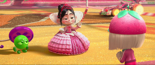 Vanellope von Schweetz wolpeyper probably containing a bouquet called Princess Vanellope Von Schweetz