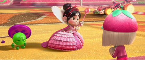 Vanellope von Schweetz wolpeyper probably with a bouquet titled Princess Vanellope Von Schweetz