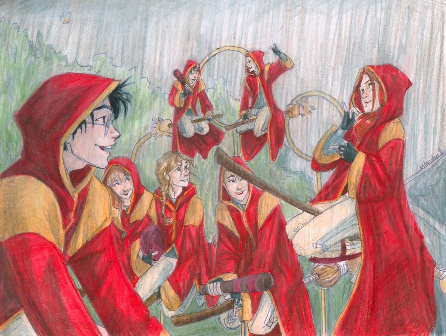 The art of successfully dating a quidditch player