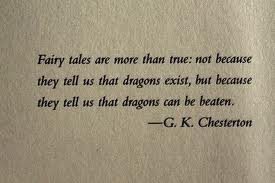 Quote from writer G. K. Chesterton