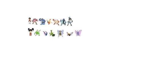 Rai and Kimiko pokemon teams