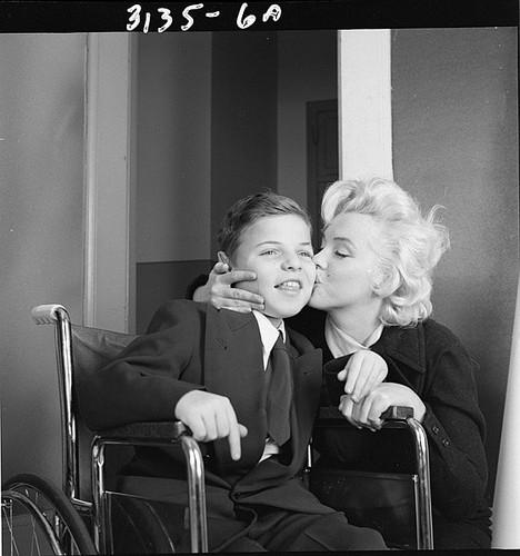 Rare foto of Marilyn