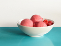 Raspberry Ice-Cream - ice-cream photo