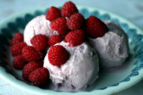 Red Raspberry Ice-Cream