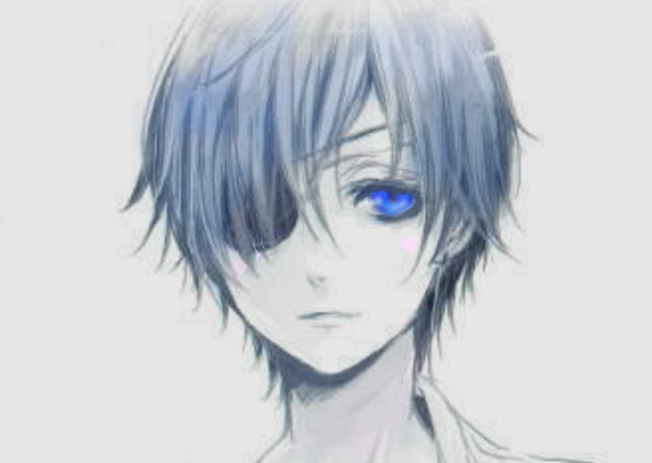 Madam is red, and now she is dead. Ciel is blue, that is only too true.