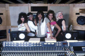 Rick James In The Recording Studio With The Mary Jane Girls