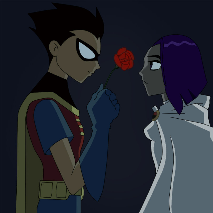 robin and raven dating Starfire (dc animated film universe) edit history  (boyfriend), damian wayne/robin, raven, beast boy, blue  she joined the team and started dating.