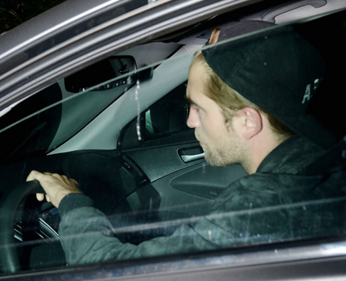 Robert outside 城堡 Marmont on June 18,2013