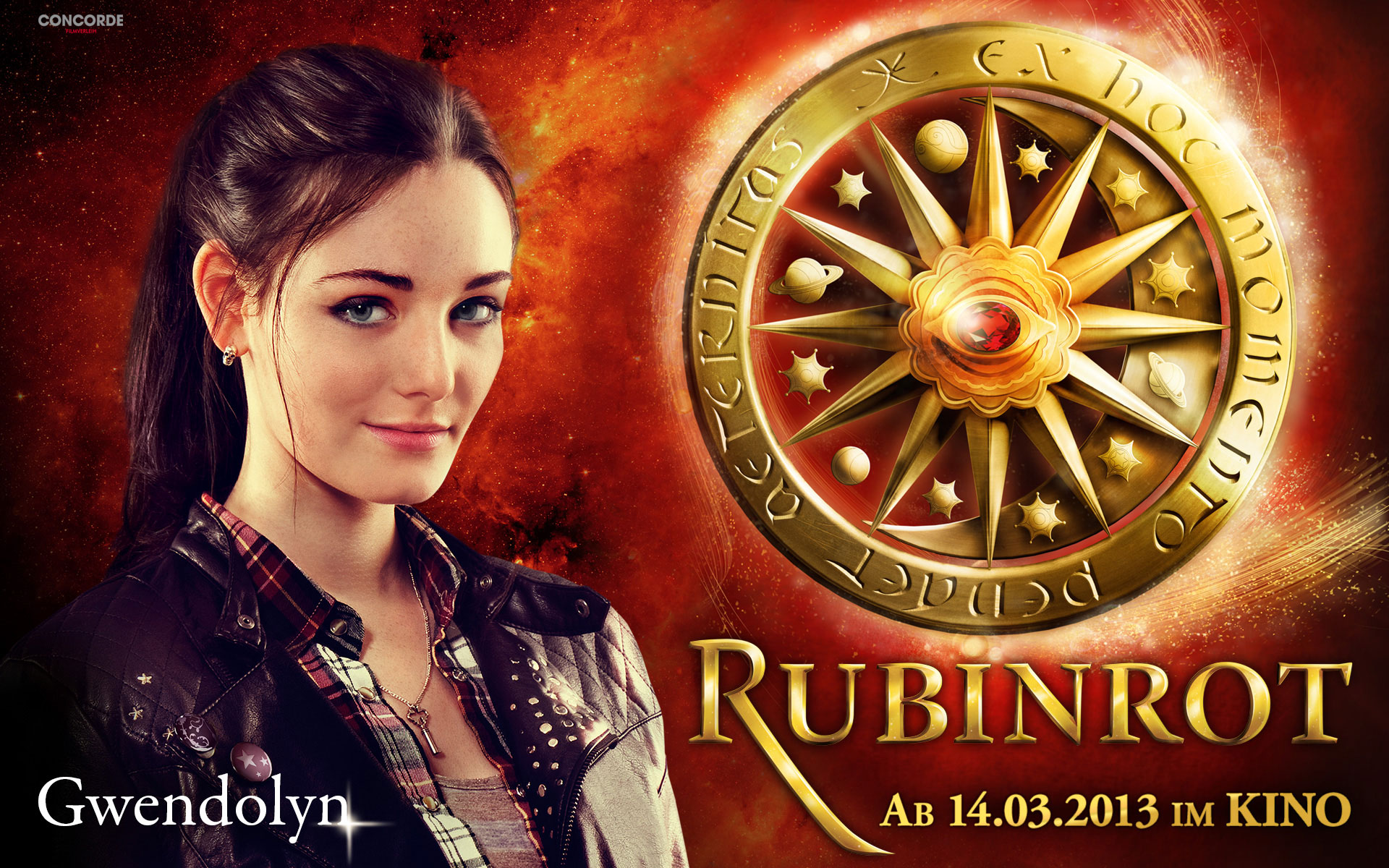 Ruby Red Trilogy Wallpaper Probably Containing A Roulette Wheel And Strada Via Titled