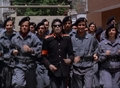 Running With The Guards - michael-jackson photo