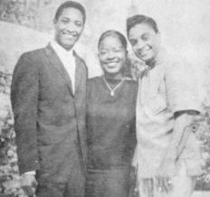 Sam Cooke, Laverne Baker And Jackie Wilson