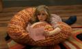 Sam reading