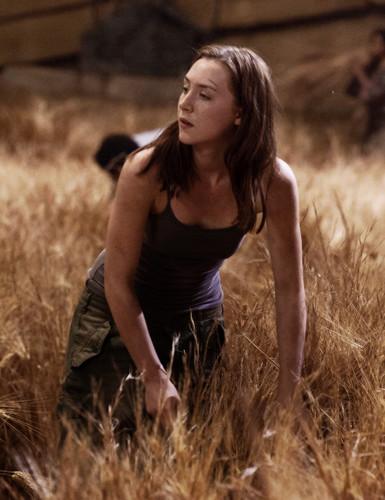 Saoirse as Melanie/Wanda in the Host