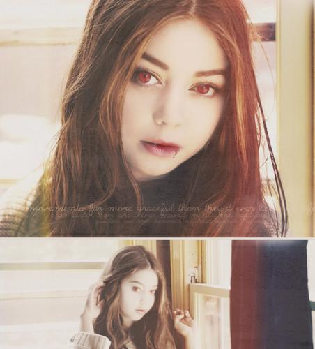 Sarah as Natalie Dashkov <3