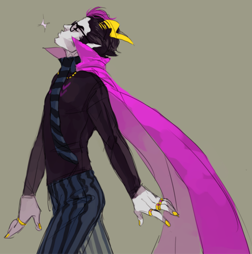 Eridan Ampora wallpaper entitled Sassy Eridan