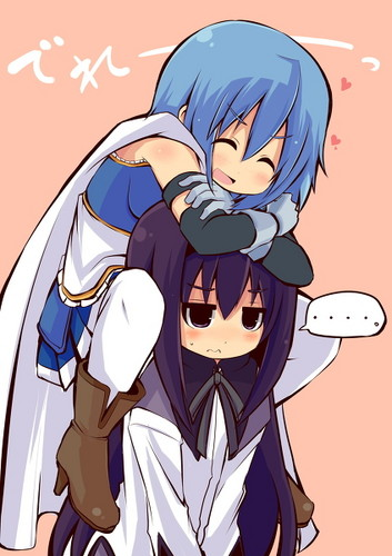 Sayaka & Homura