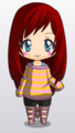 Scarlette Chibi - total-drama-island-fancharacters photo