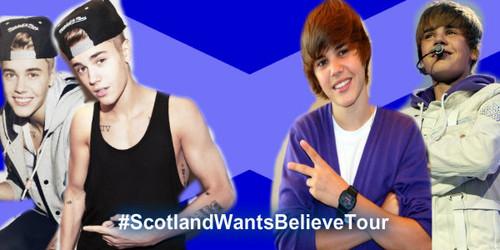 Scotland Beliebers Want Ты