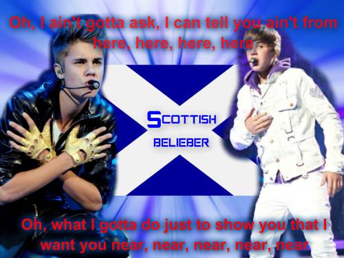 Scotland Beliebers Want 你