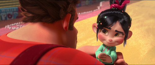 Vanellope von Schweetz karatasi la kupamba ukuta probably with a bouquet entitled See you, Ralph! ^^