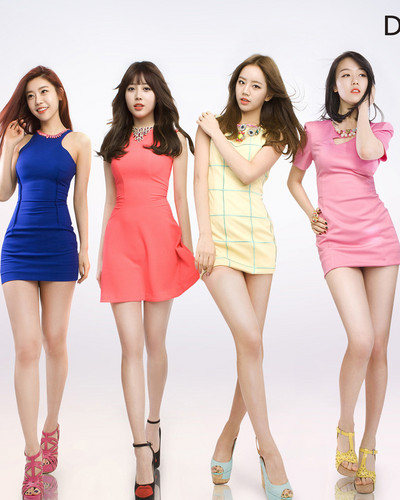 Girl's Day wallpaper probably containing a cocktail dress and a chemise entitled Sexy Girl's Day <3333333~
