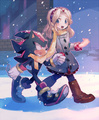 Shadow and Maria - shadow-the-hedgehog photo