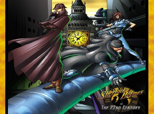 Sherlock Holmes wallpaper containing anime titled Sherlock Holmes In The 22nd Century