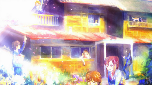 Shiina's painting of Sakurasou