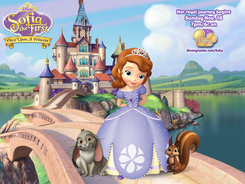Sofia The First achtergrond entitled Sofia The First achtergrond
