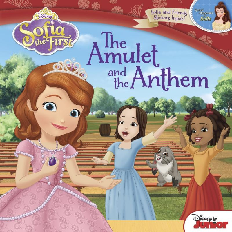 Sofia the First the Amulet and Anthem the Book