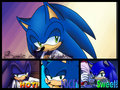 Sonic The Hedgehog collage