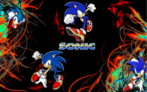 Sonic the Hedgehog wallpaper possibly with anime called Sonic