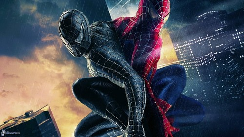 Spider-Man wallpaper possibly containing a hip boot and a show, concerto titled Spidrman