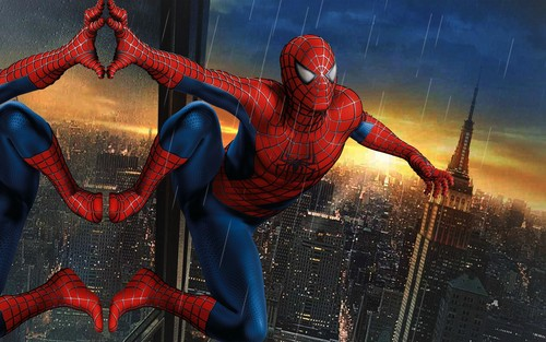 Spider-Man wallpaper containing a breastplate called Spidrman