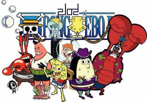 Spongebob as One Piece
