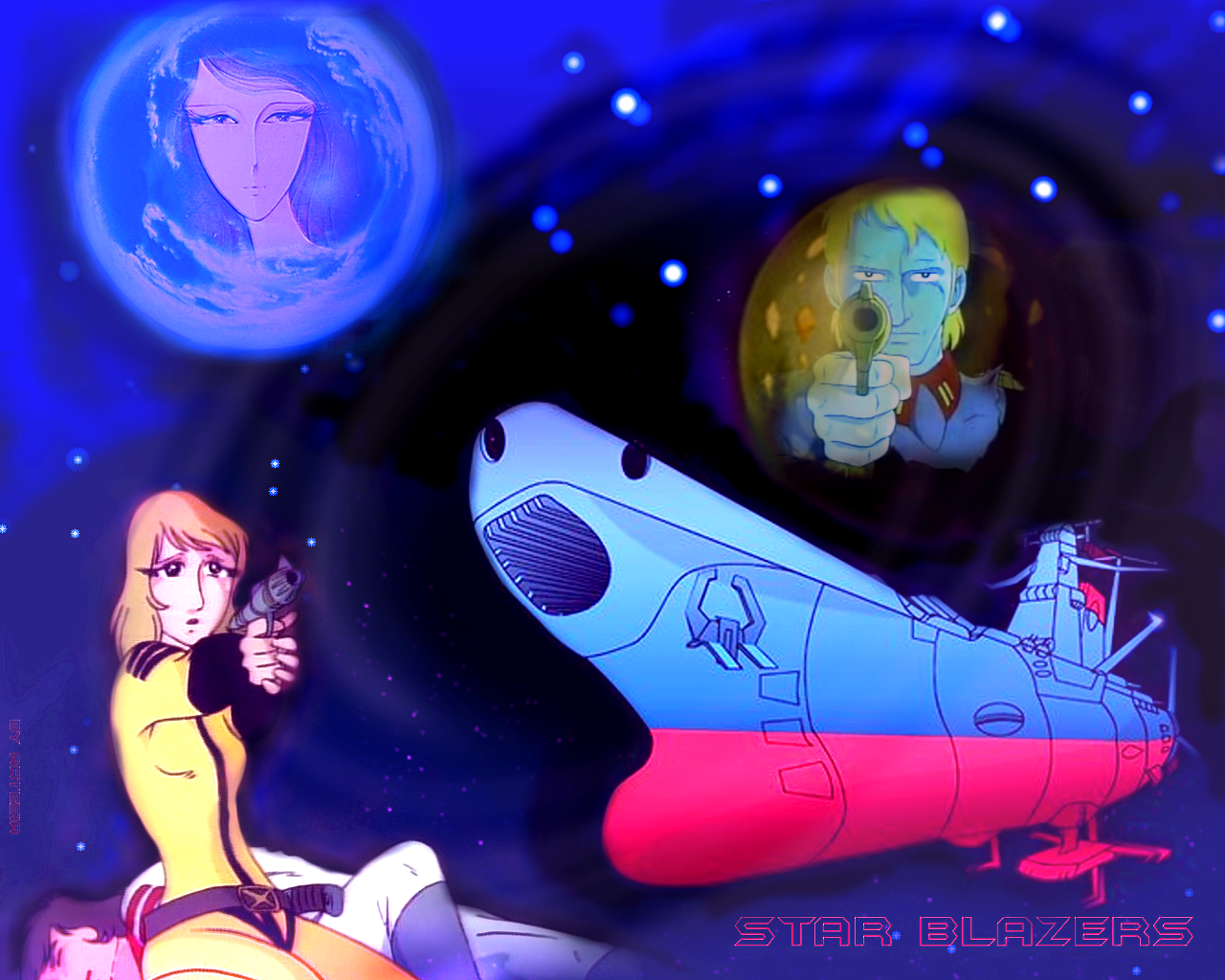 Star Blazers Stories - Anime Wallpaper (34710491) - Fanpop