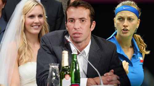 Stepanek: divorce and upendo with Kvitova !