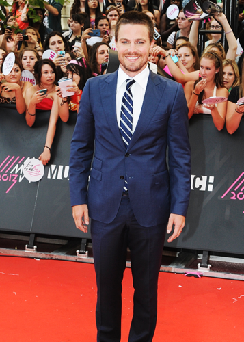 Stephen Amell at the 2013 MuchMusic Video Awards