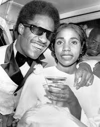 Stevie Wonder And First Wife, Syreeta Wright, On Their Wedding Day Back In 1971