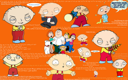 stewie griffin wallpaper probably containing anime entitled Stewie