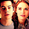 Stiles & Lydia تصویر containing a portrait called Stiles & Lydia 3x03<3