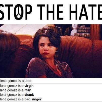 Stop hating on Selena!