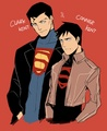 superman and Superboy