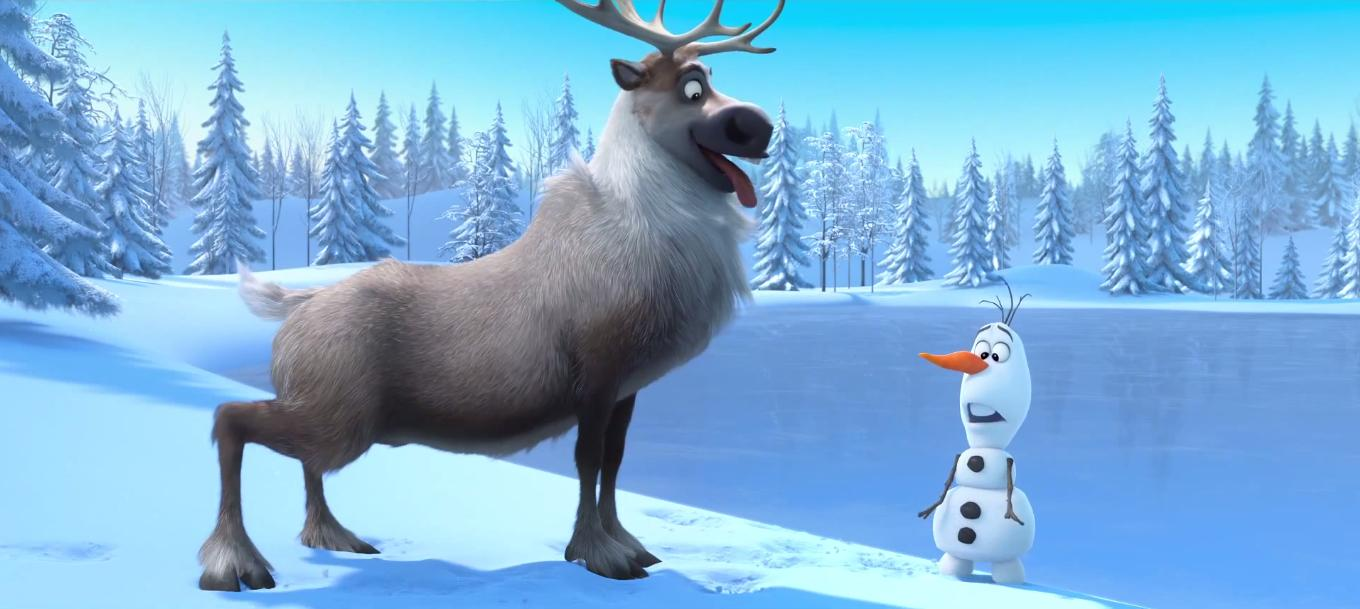 Frozen images sven and olaf hd wallpaper and background photos