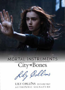 TMI: City of Bones Trading Cards