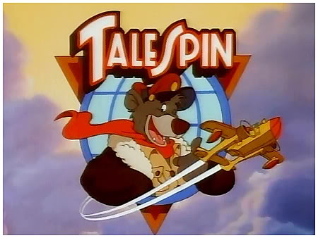 Memorable TV wallpaper probably containing anime called TaleSpin