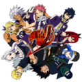 Team Fairy Tail - anime photo