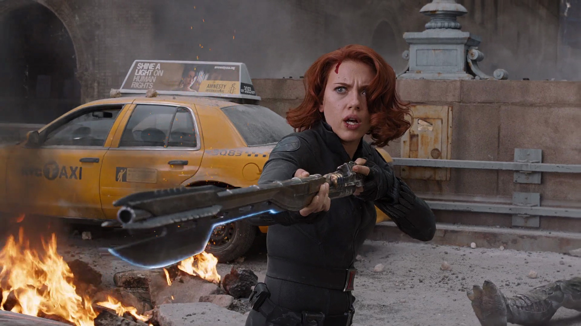 The Avengers Climax Black Widow The Avengers Photo